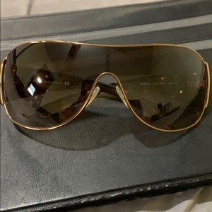 Authentic large vintage  Prada sunglasses